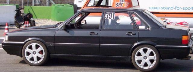 Audi 90 1990 Audi 90 Quattro Black Model