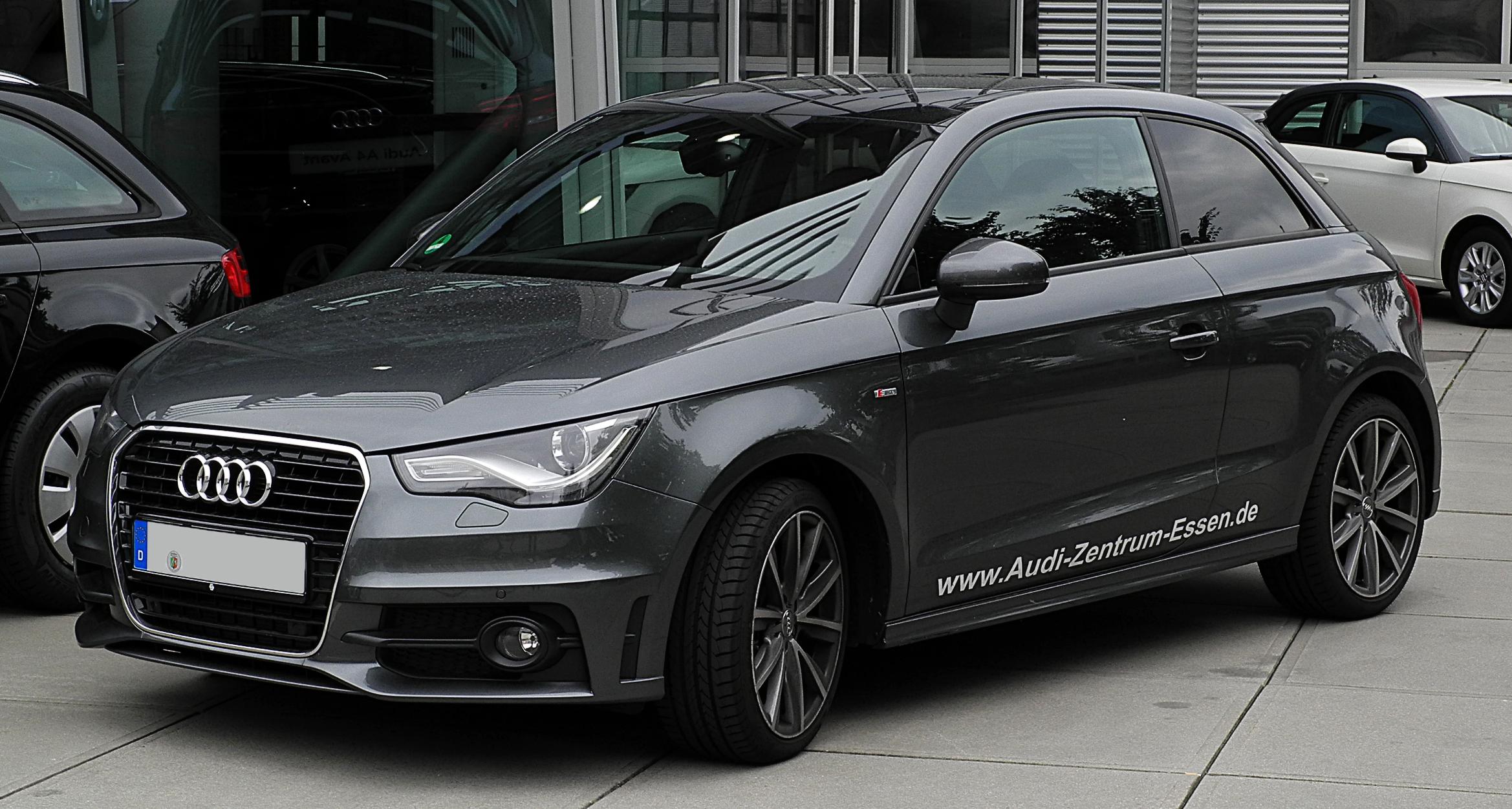 File Audi A1 1 4 Tfsi Ambition S Line Frontansicht 3