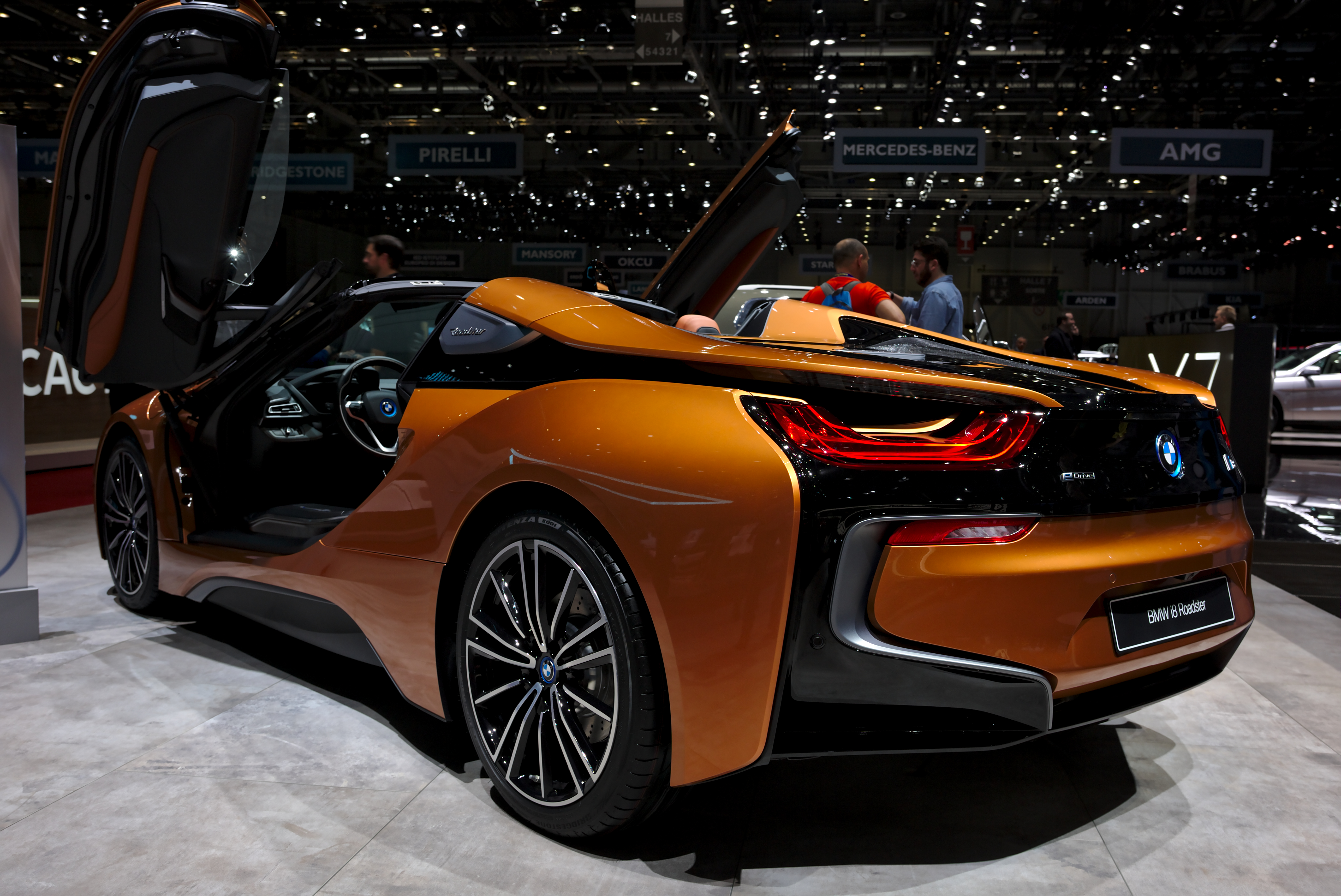 File Bmw I8 Roadster Genf 2018 Jpg Wikimedia Commons