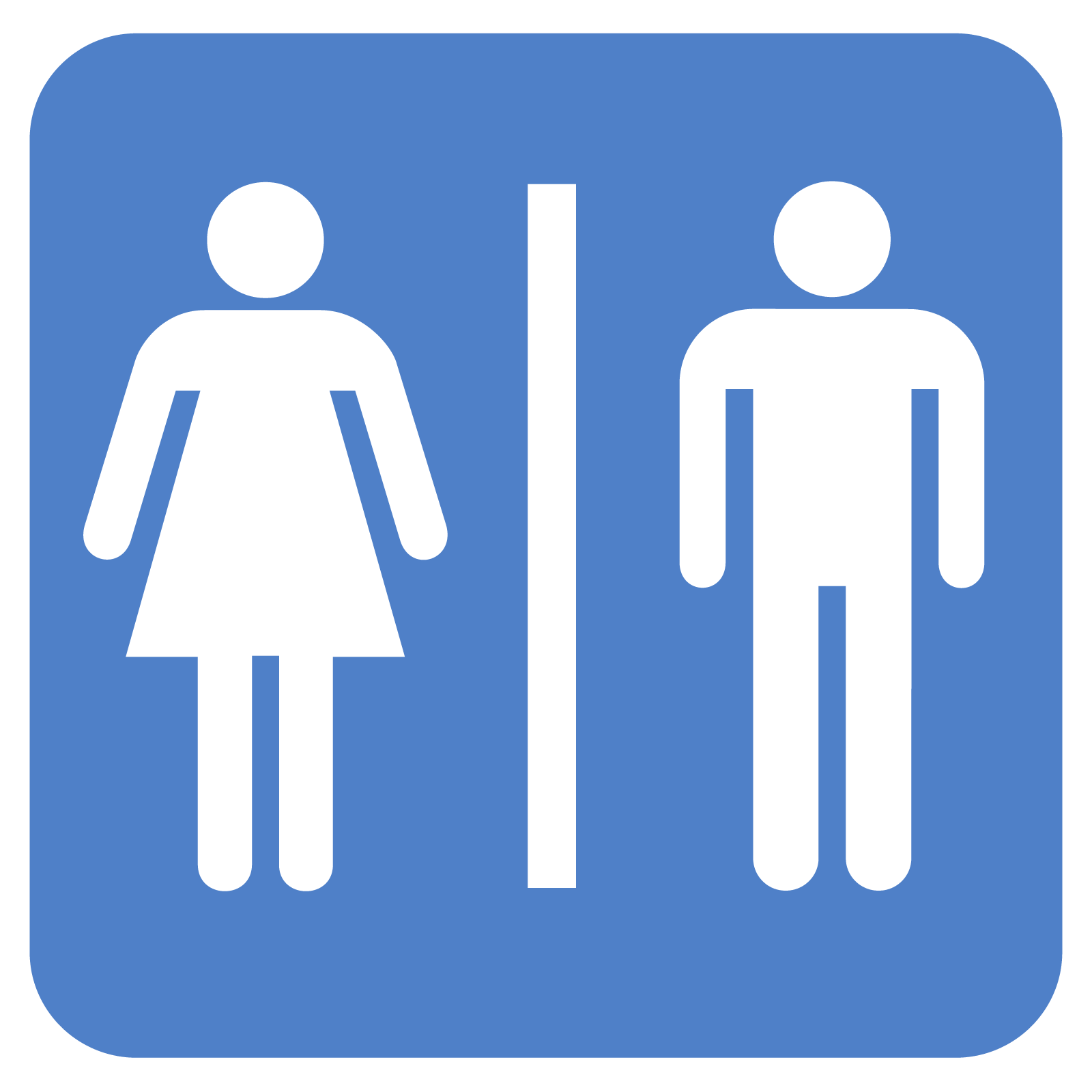 Public Bathroom Signs