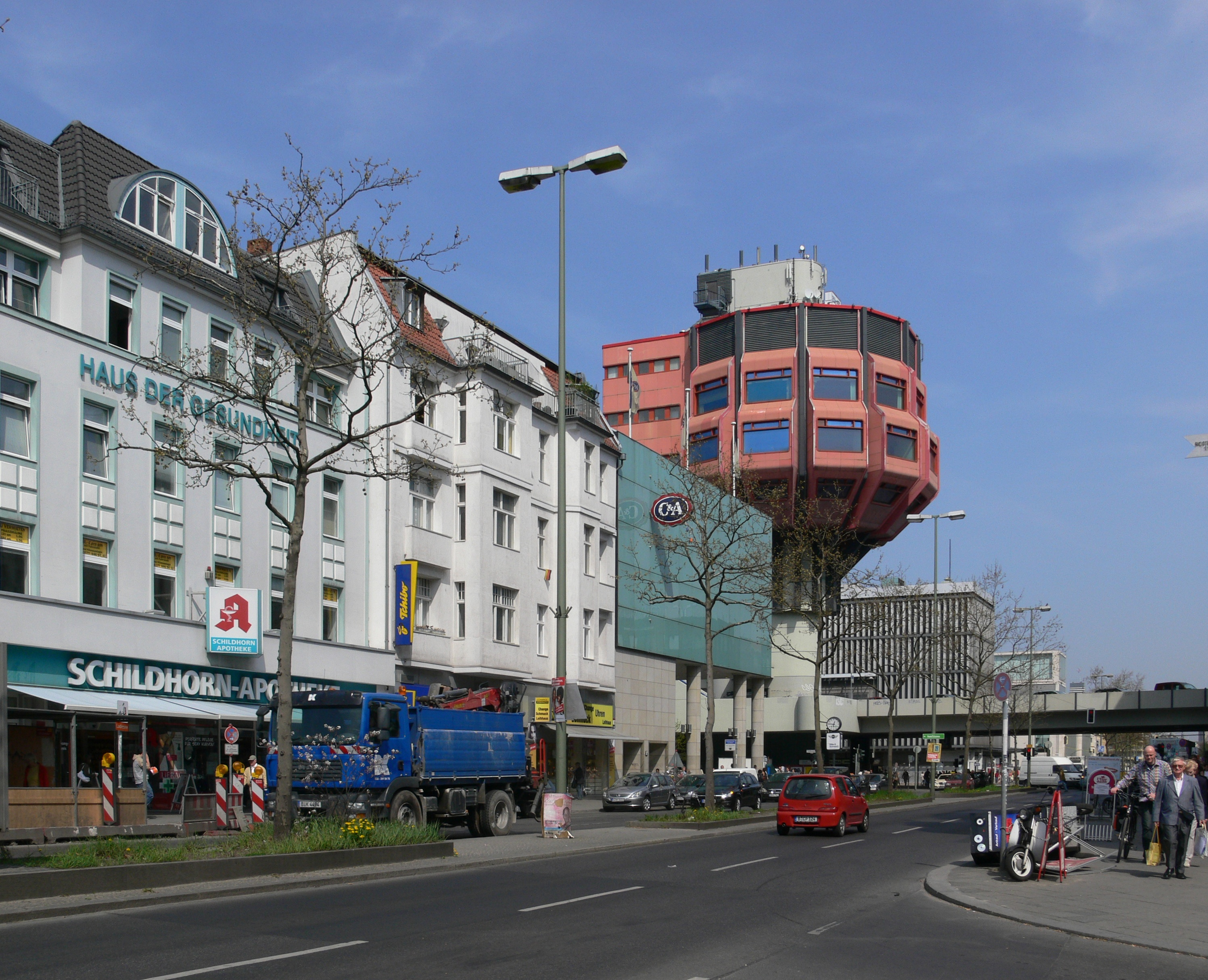 File Berlin Steglitz Bierpinsel Wikimedia Commons