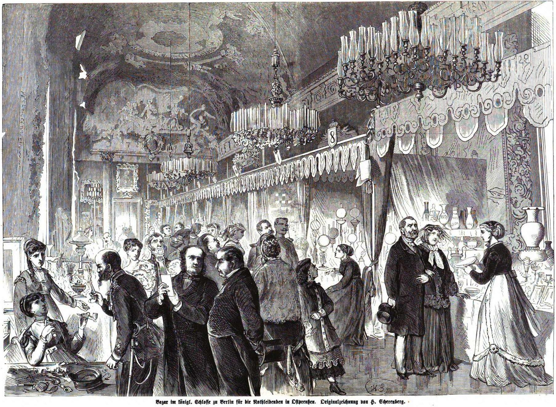 Datei:Berlin Stadtschloss Basar f Ostpreußen 1868 (IZ 50 H Scherenberg).JPG