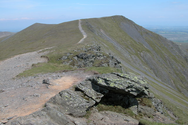 Blencathra Ridge - geograph.org.uk - 190077