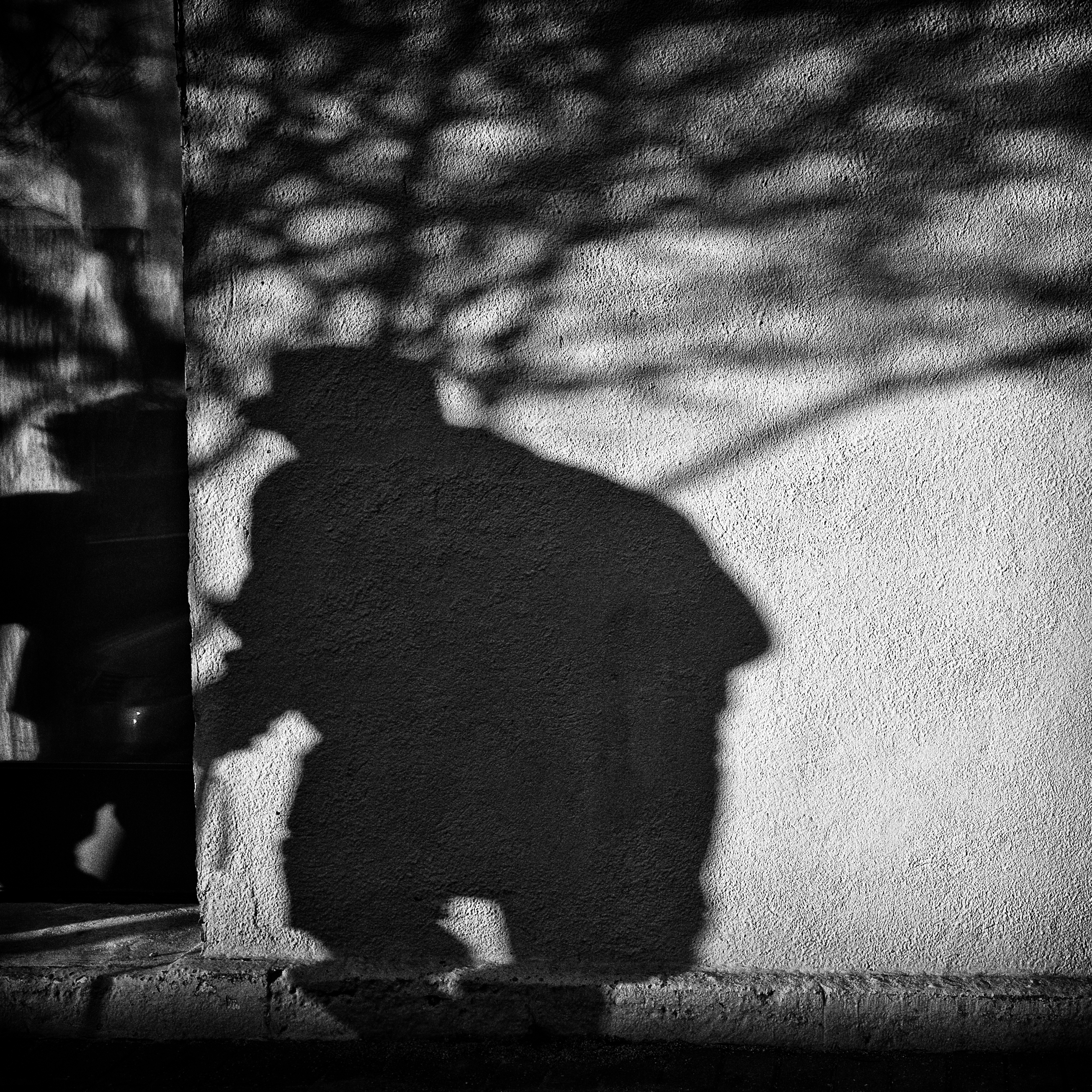 An image of a creepy shadow