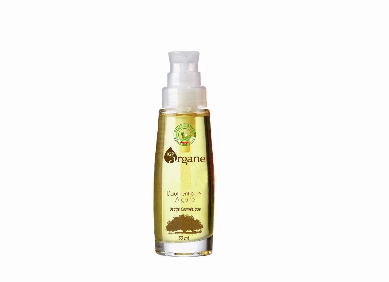 Argan Oil in a small bottle