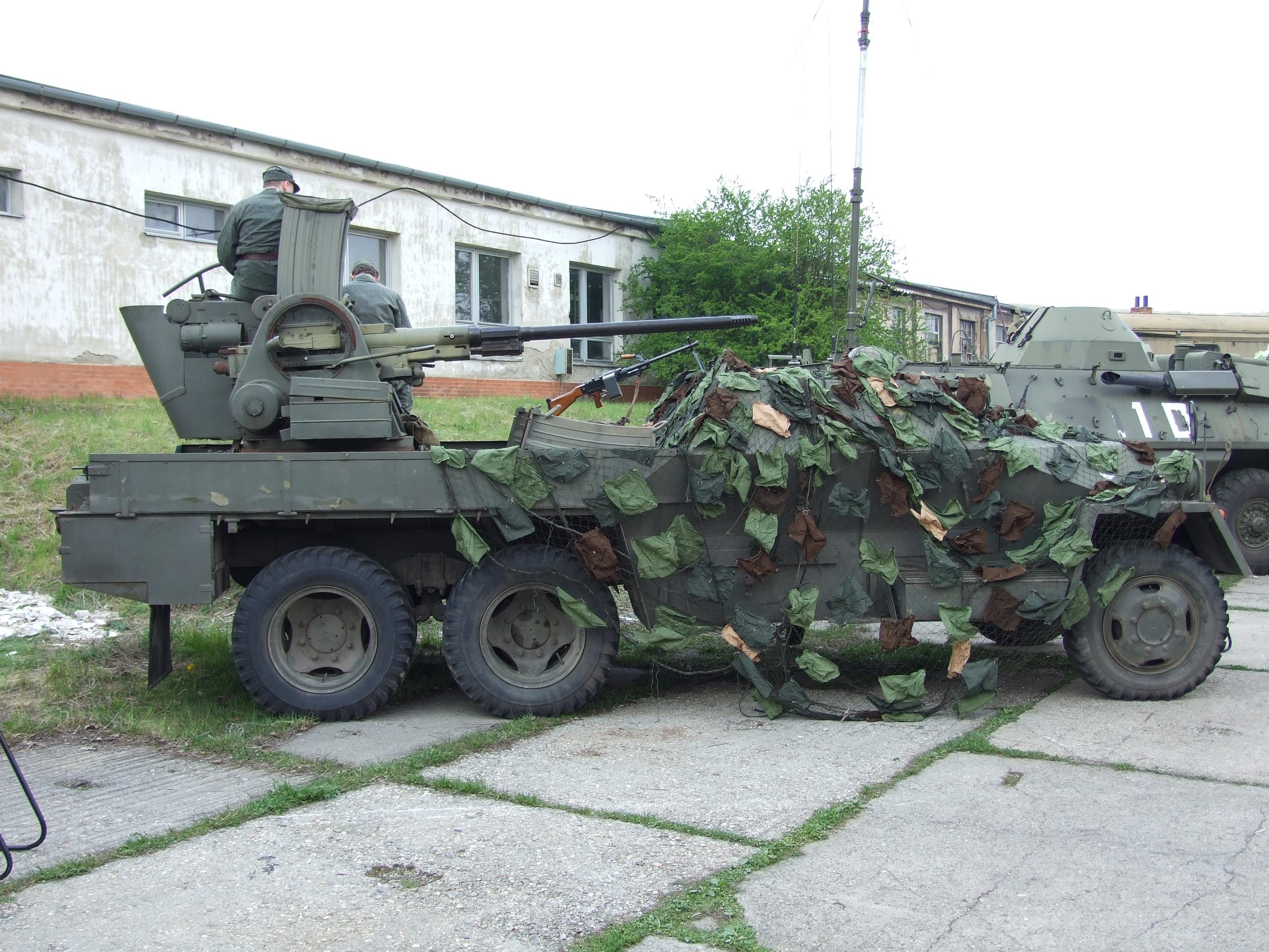Anti-aircraft Gun Modern Anti-aircraft Gun M53/59