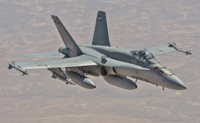 McDonnell Douglas CF-18 Hornet - Wikipedia