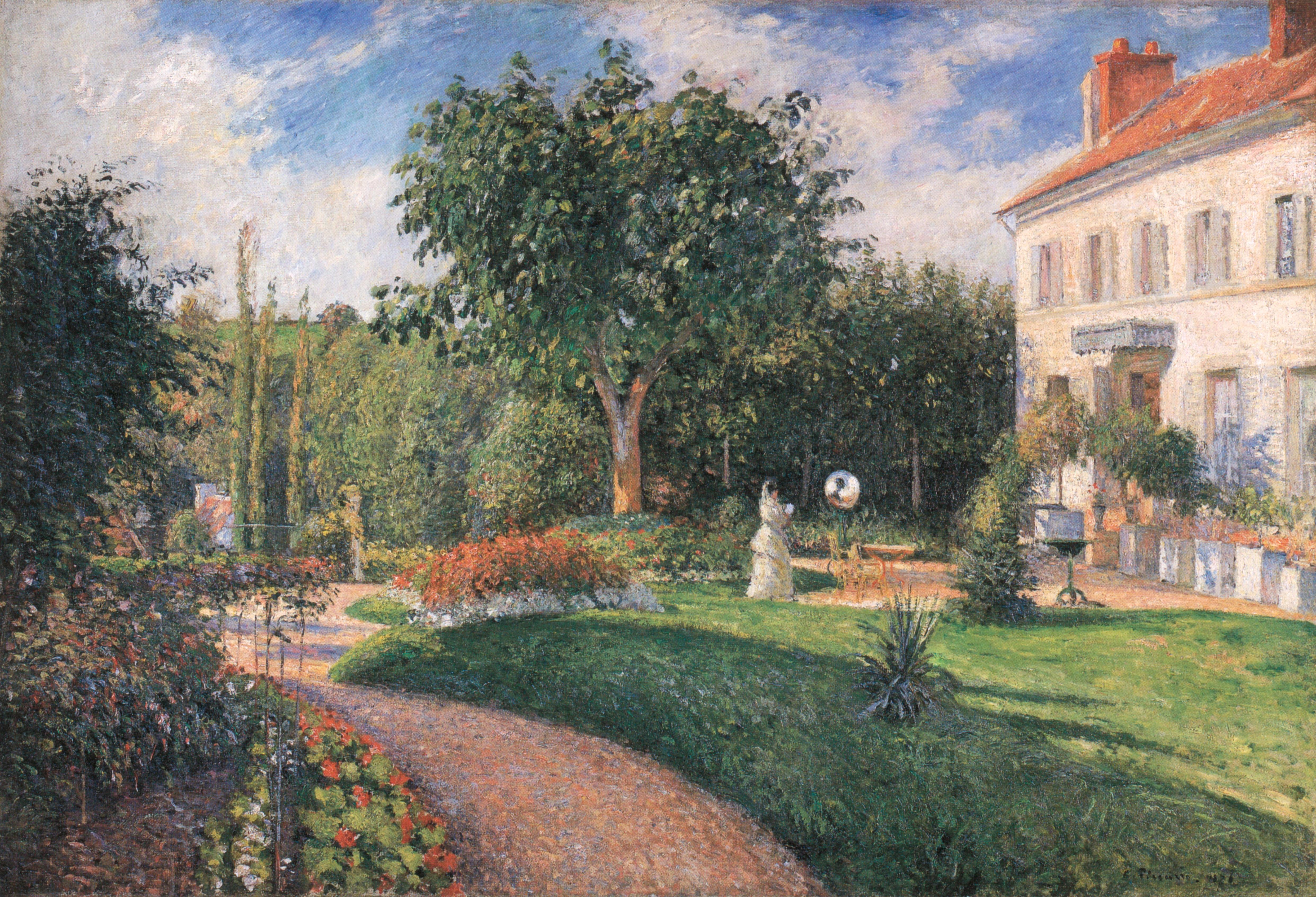 Le Jardin des Mathurins Pontoise Wikiwand