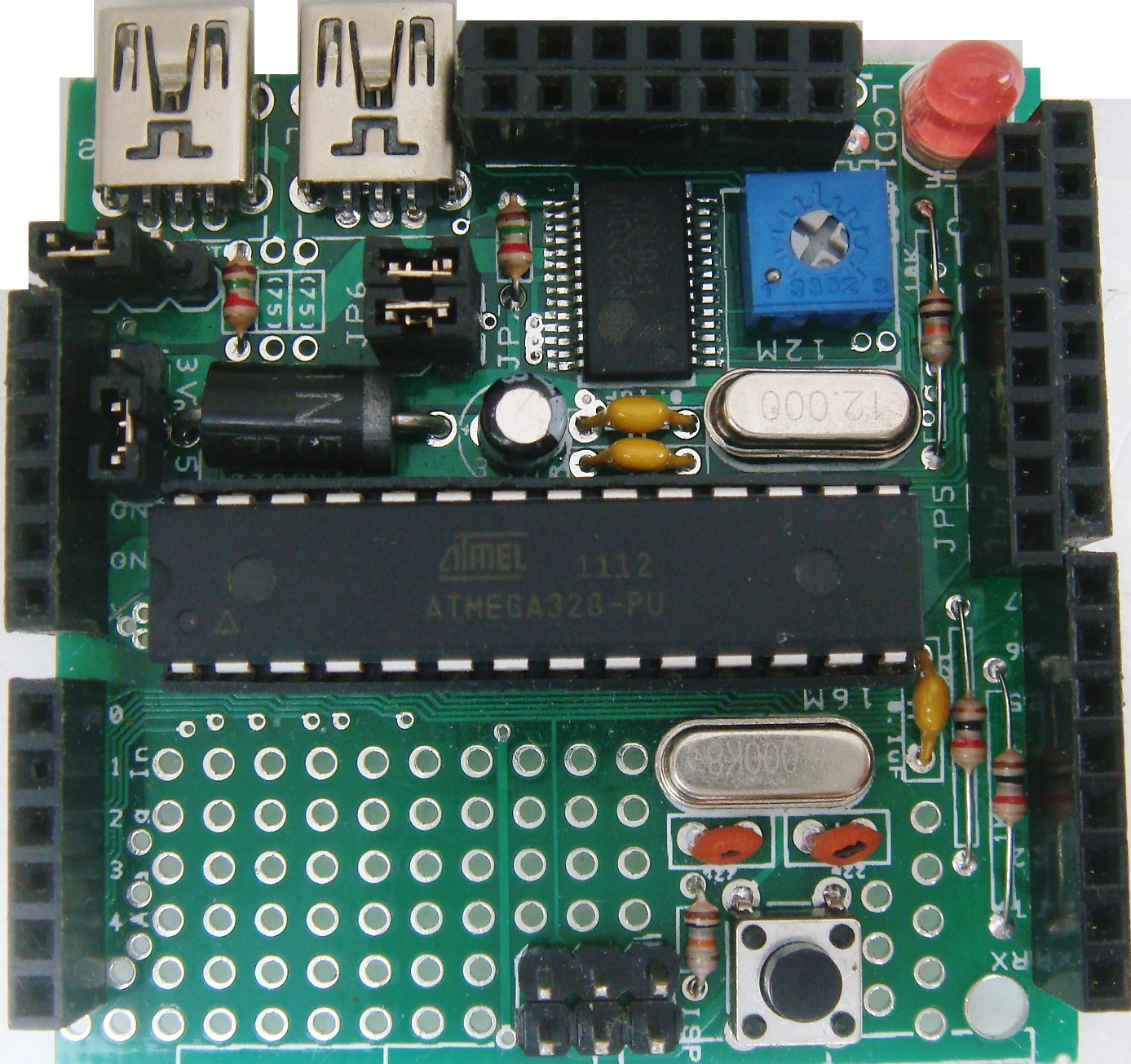 List of arduino compatibles