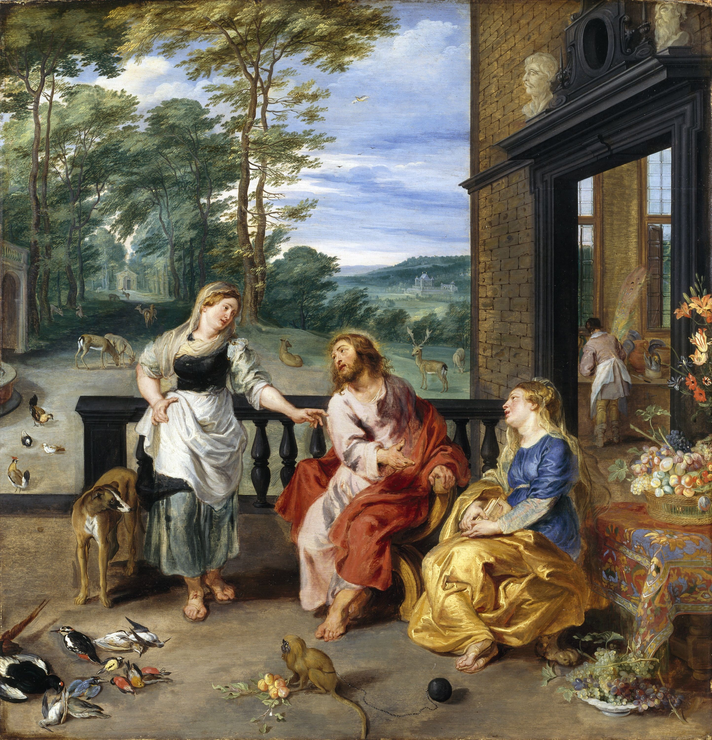 File:Christ in the House of Martha and Mary 1628 Jan Bruegel2 and Rubens.jpg