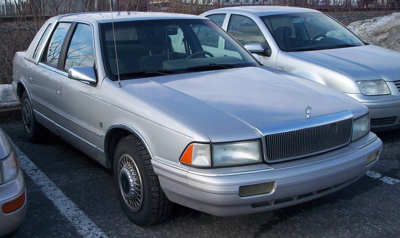 File Chrysler Lebaron Jpg Wikimedia Commons