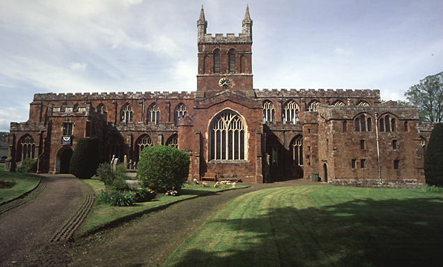 Church Of The Holy Cross C Crediton