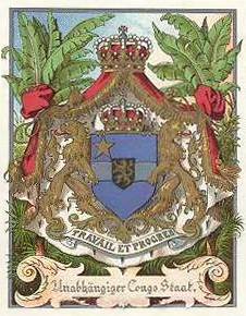 Archivo:Coat of arms of the Congo Free State.jpg