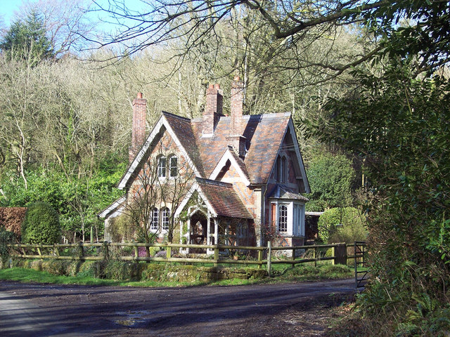 File Cottage In White Mead Wood Newtown Geograph Org Uk