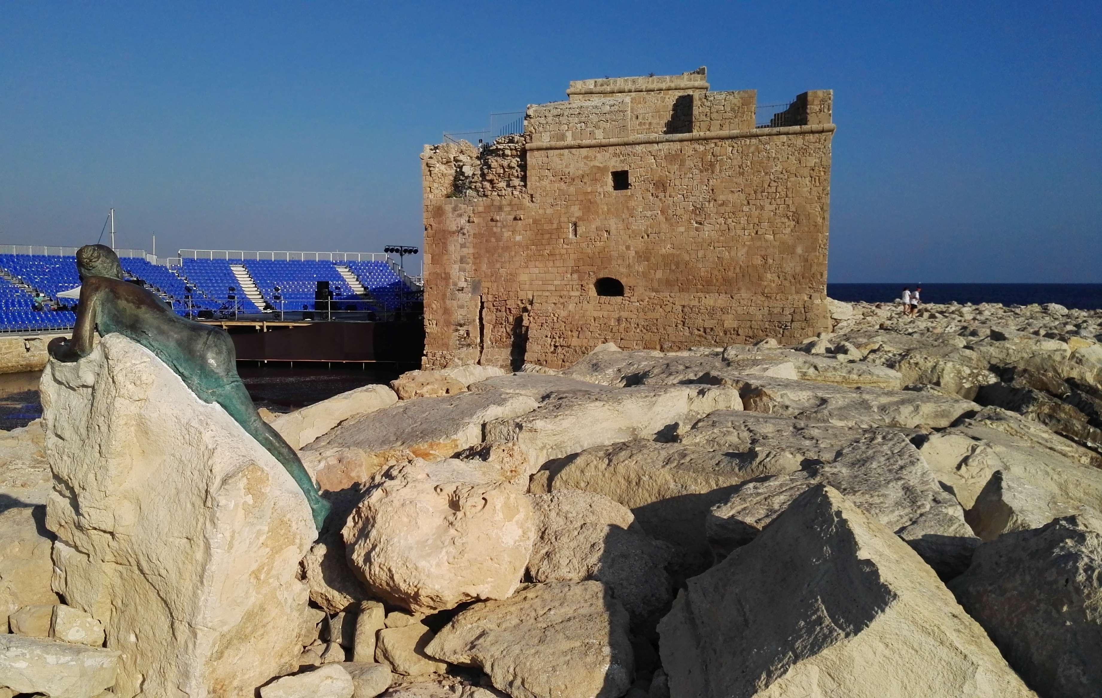 Крепость в Пафосе