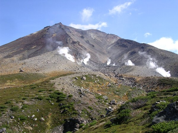 大雪山旭岳(北海道)