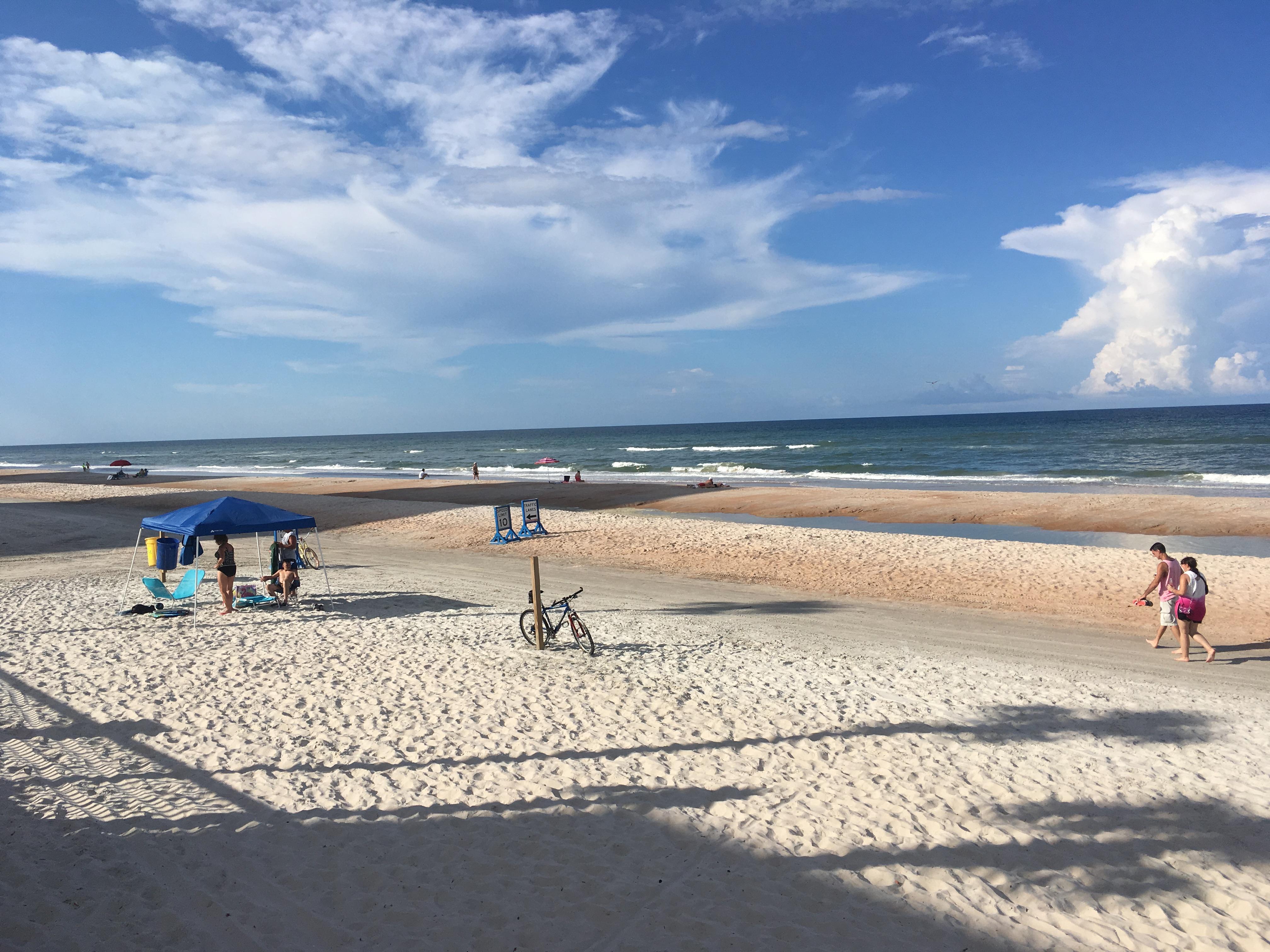 File Daytona Beach Looking North Near Ormond Border Jpg