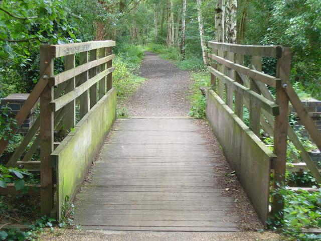 Downs Link Footbridge - geograph.org.uk - 928419