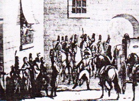 Dumouriez arresting the Commissioners in April 1793 Dumouriez arresting the Commissioners.jpeg