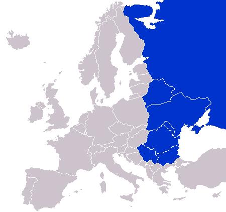 Pechos enormes de Europa del Este
