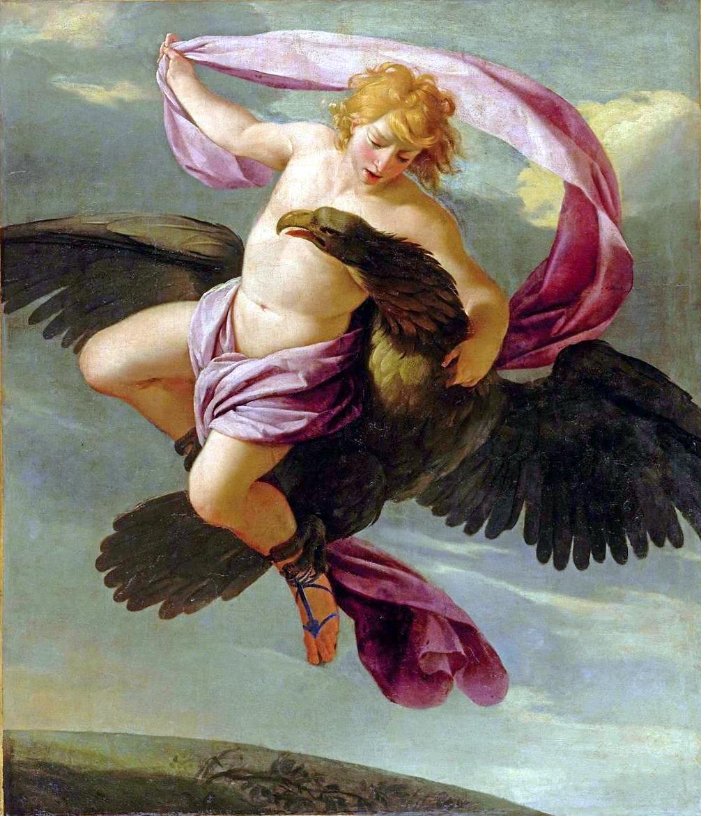 Eustache Le Sueur - The Abduction of Ganymede by Jupiter, 1644