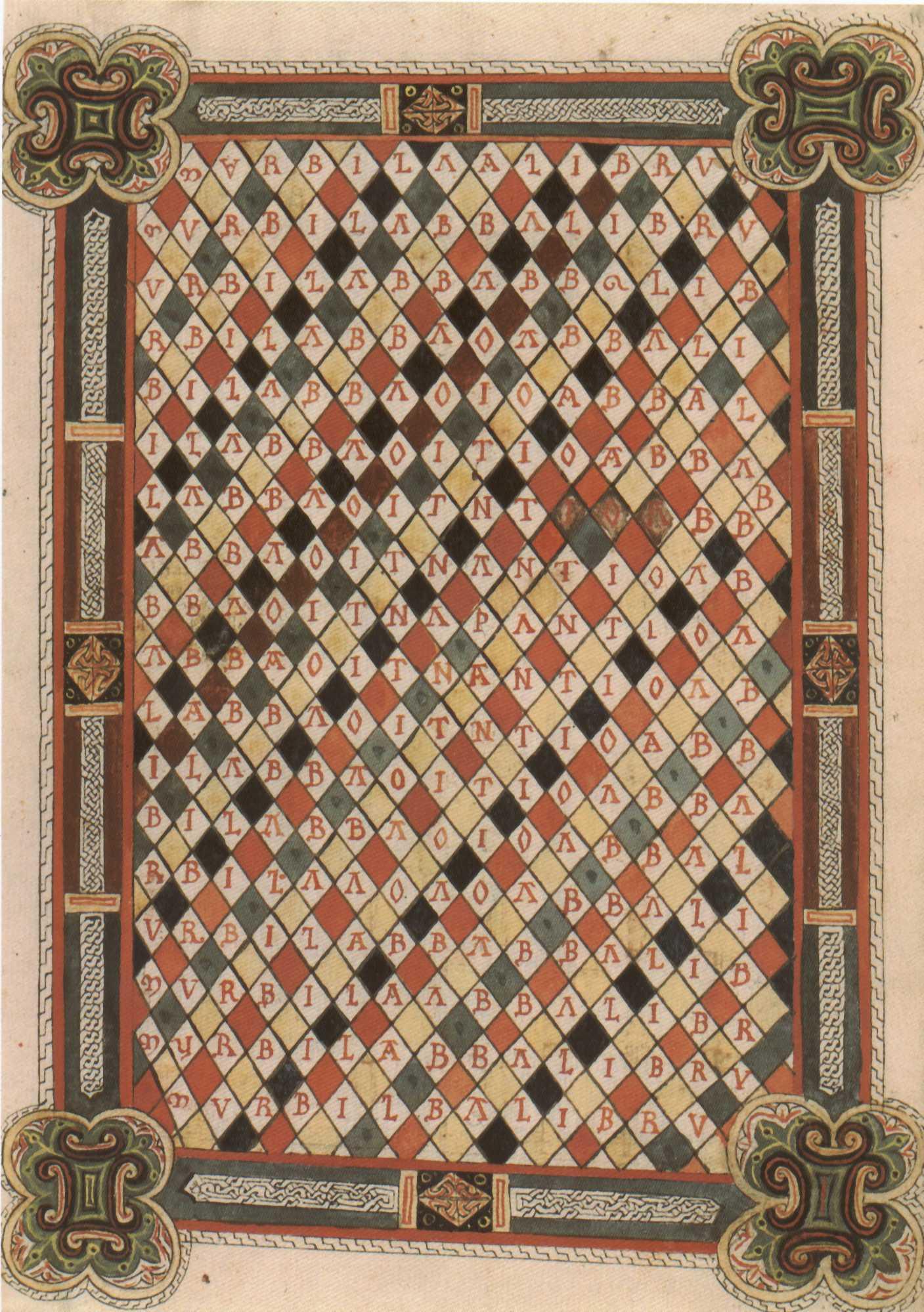 File fanlobeatusfacsimilefolio11racrosticpage jpg wikimedia commons
