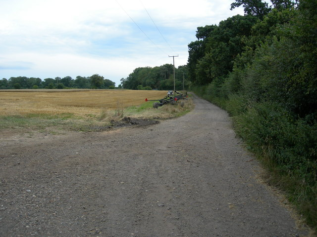 Farm Track and Wealdway Footpath - geograph.org.uk - 925843