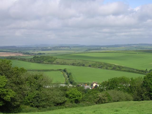 Farmland north of Bere Regis - geograph.org.uk - 24381
