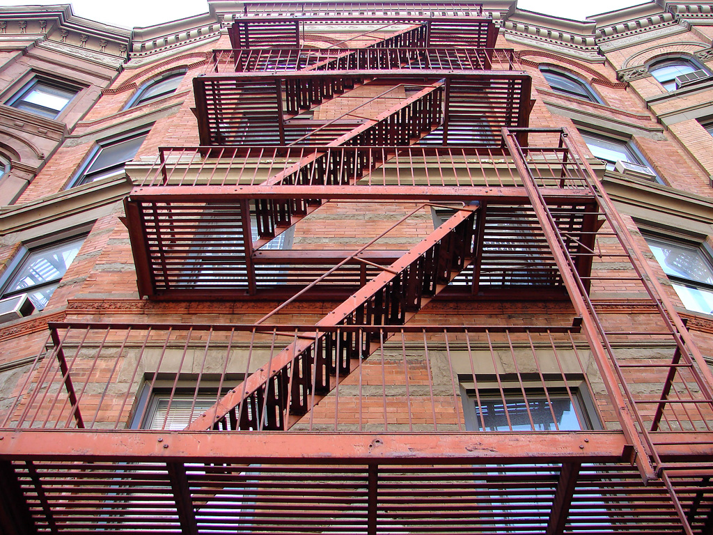 Superb File:Fire Stairs... (100327396)