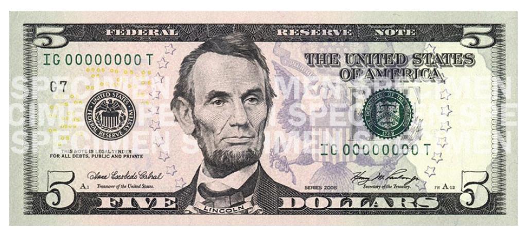 file five bill obverse 2005 series jpg wikimedia commons