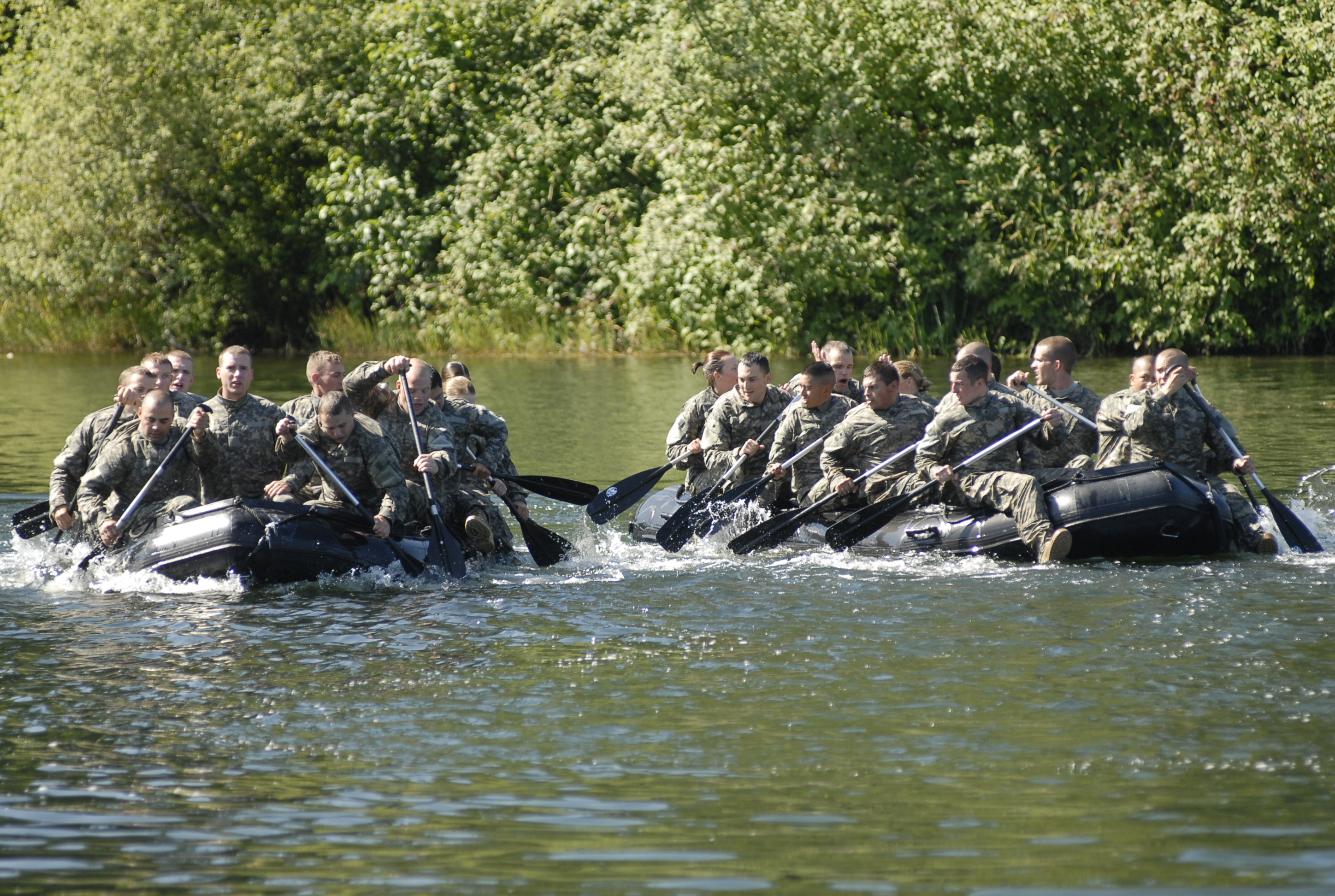 Army confidence course regulation