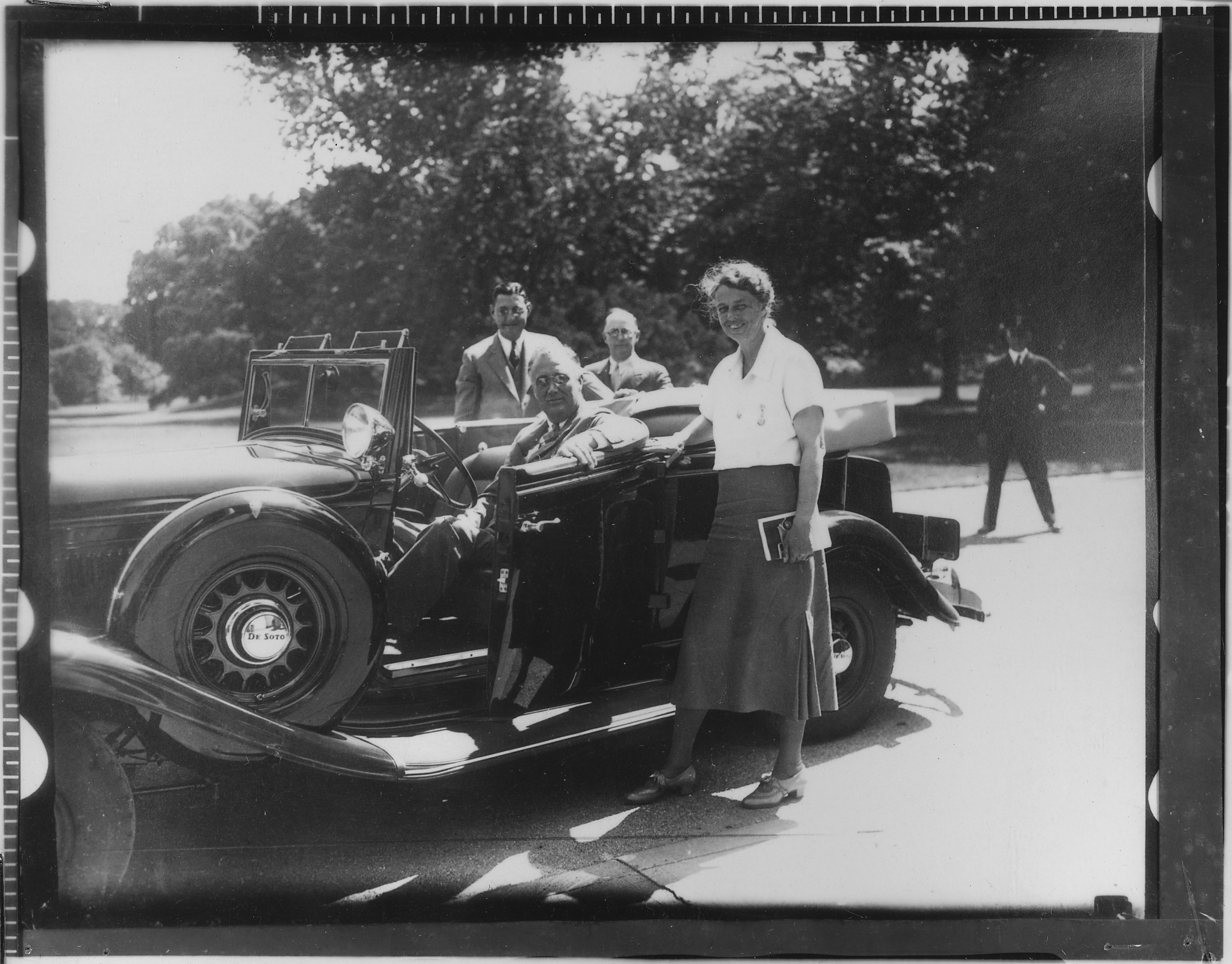 File Franklin D Roosevelt Eleanor Roosevelt and others in