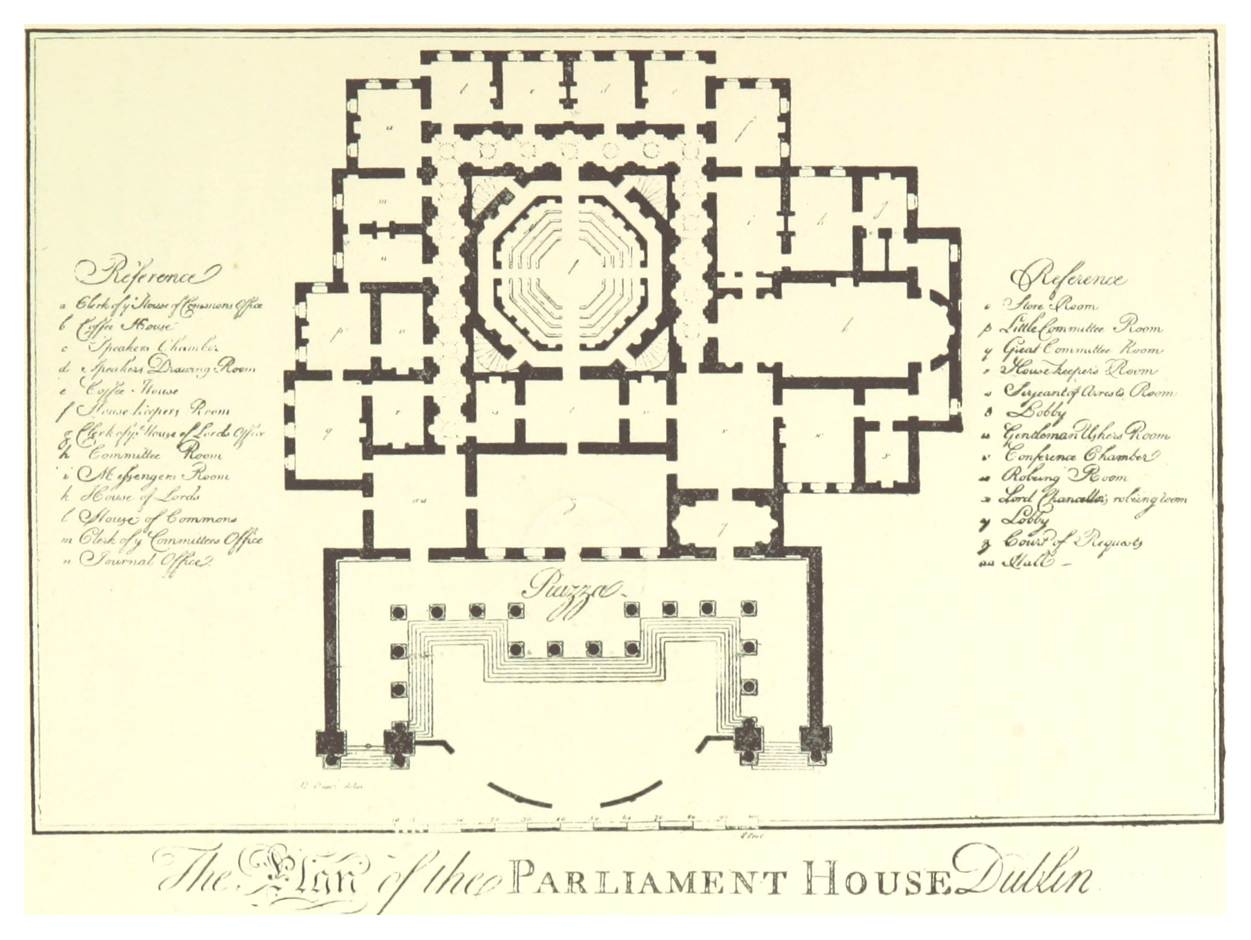 File Gilbert 1896 P141 The Plan Of The Parliament House