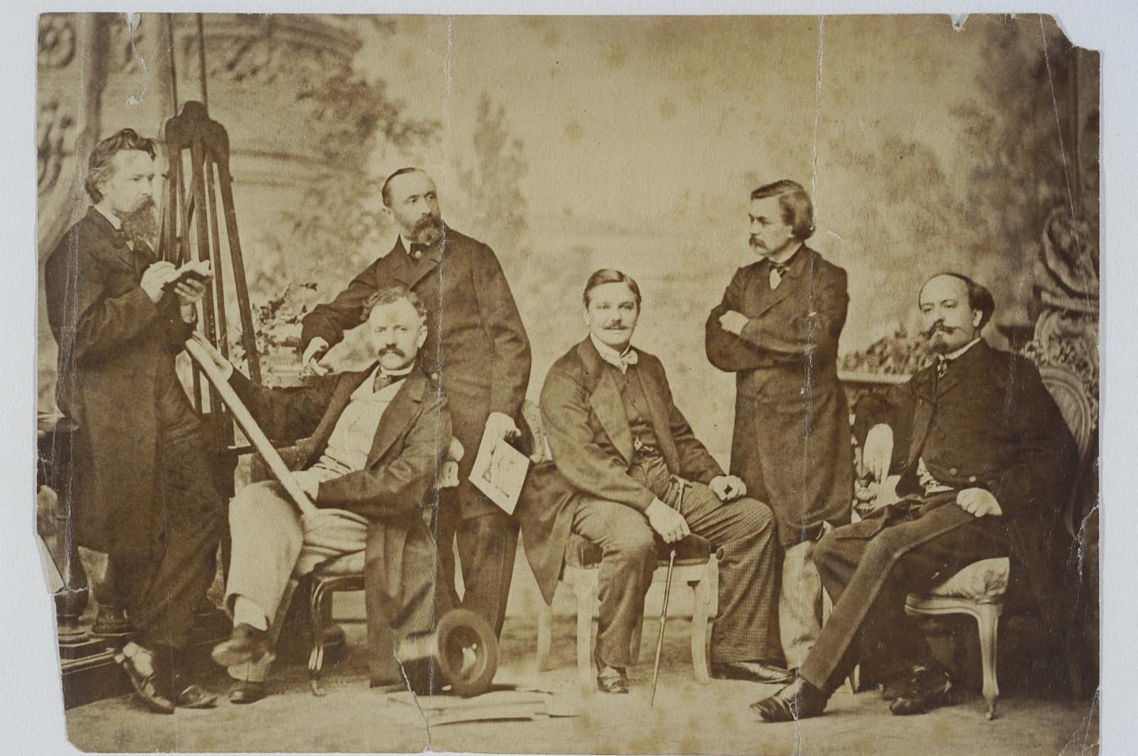 File:Gerson, Simmler, Olszyński, Kostrzewski, Kossak, 1858-60.