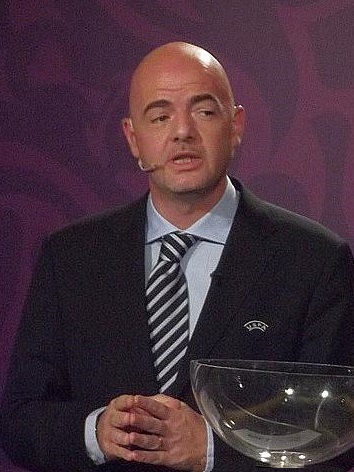 Gianni Infantino. Credit: Wikimedia Commons, CC BY 2.0
