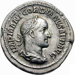 Gordian II Roman Emperor in 238 AD