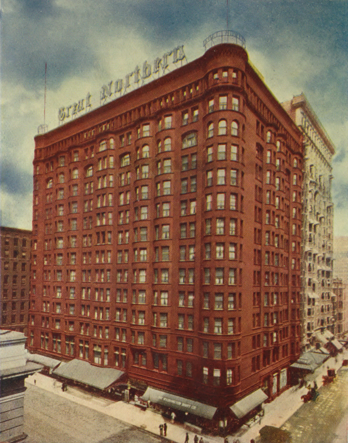 File Great Northern Hotel Chicago 1908 Jpg