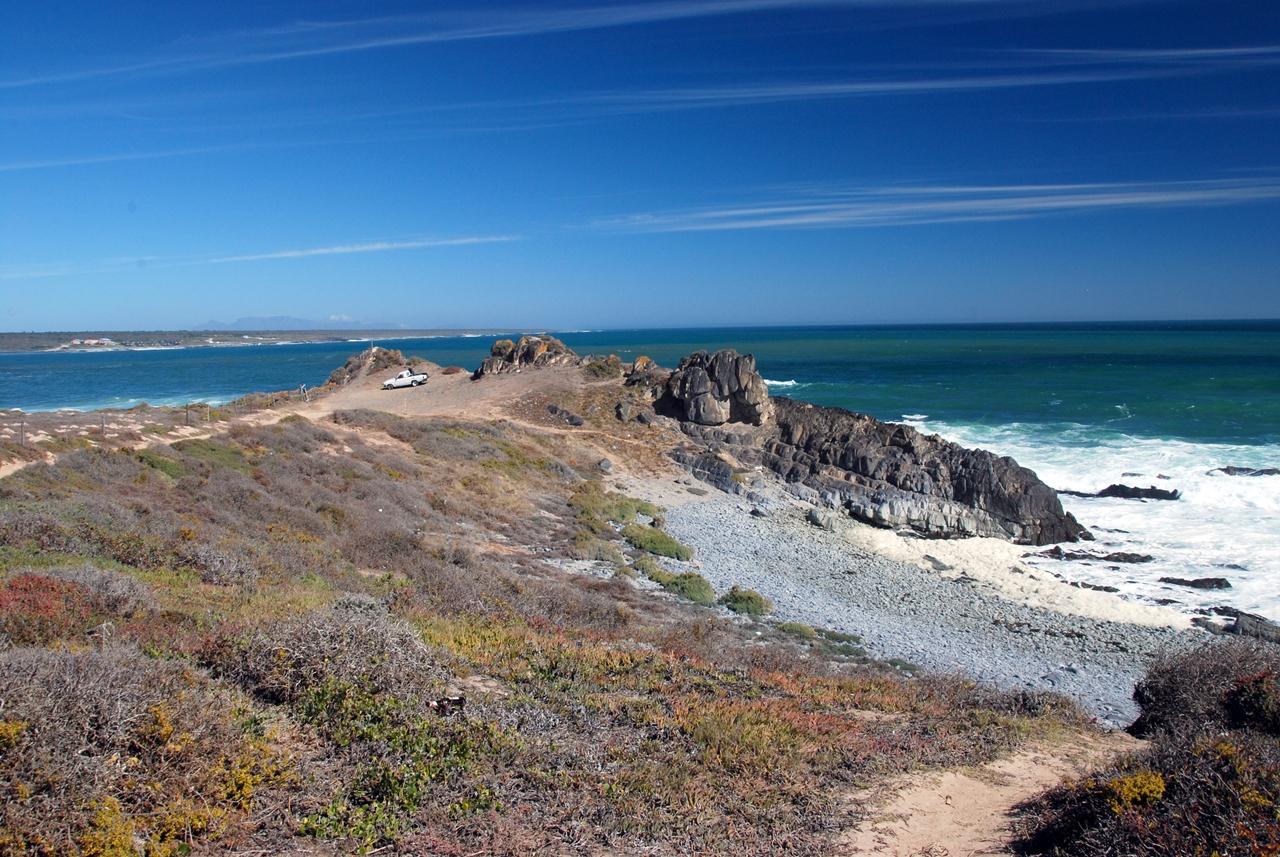 Sonnenschein an Traumküste in Südafrika
