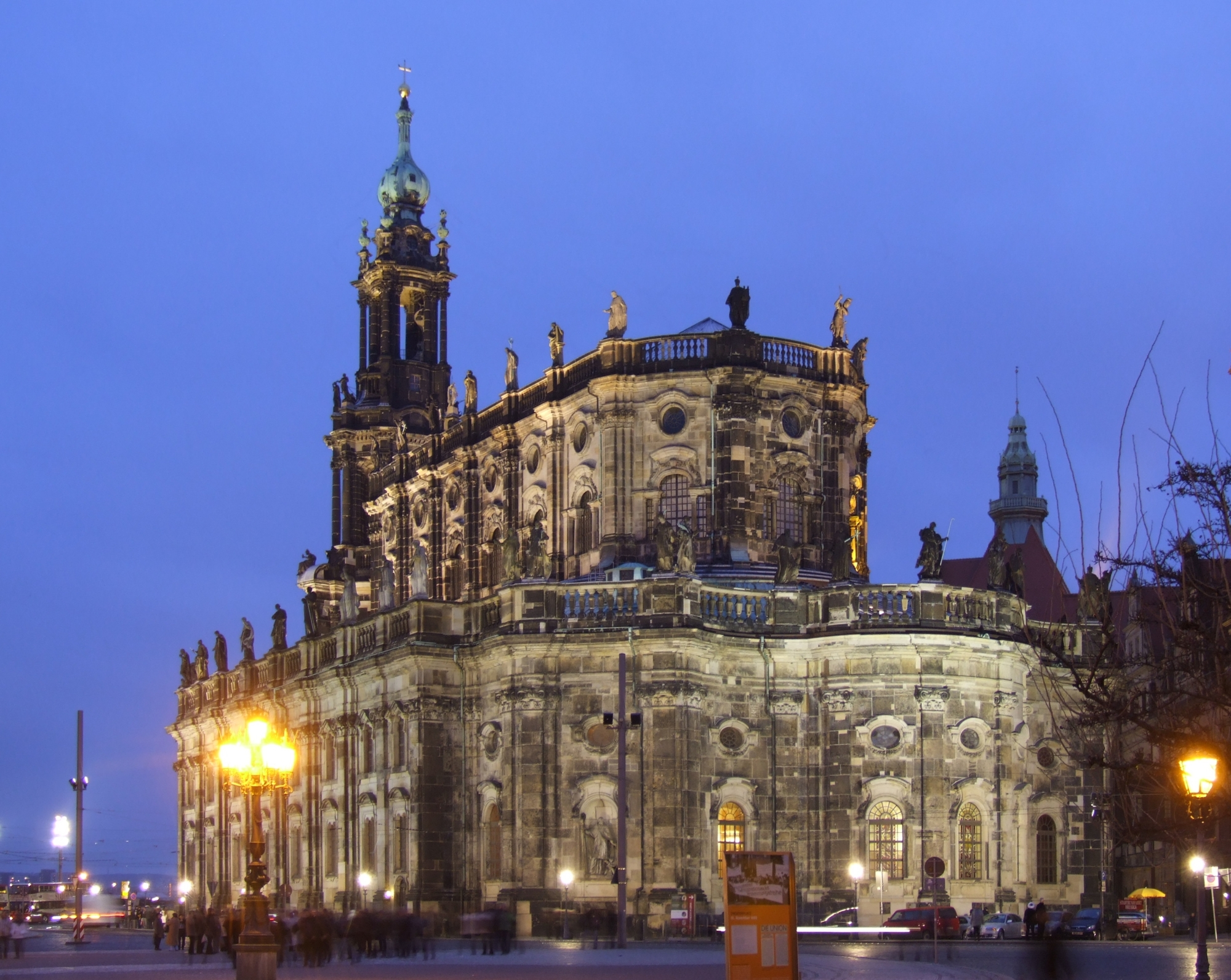 dresden katholische kirche
