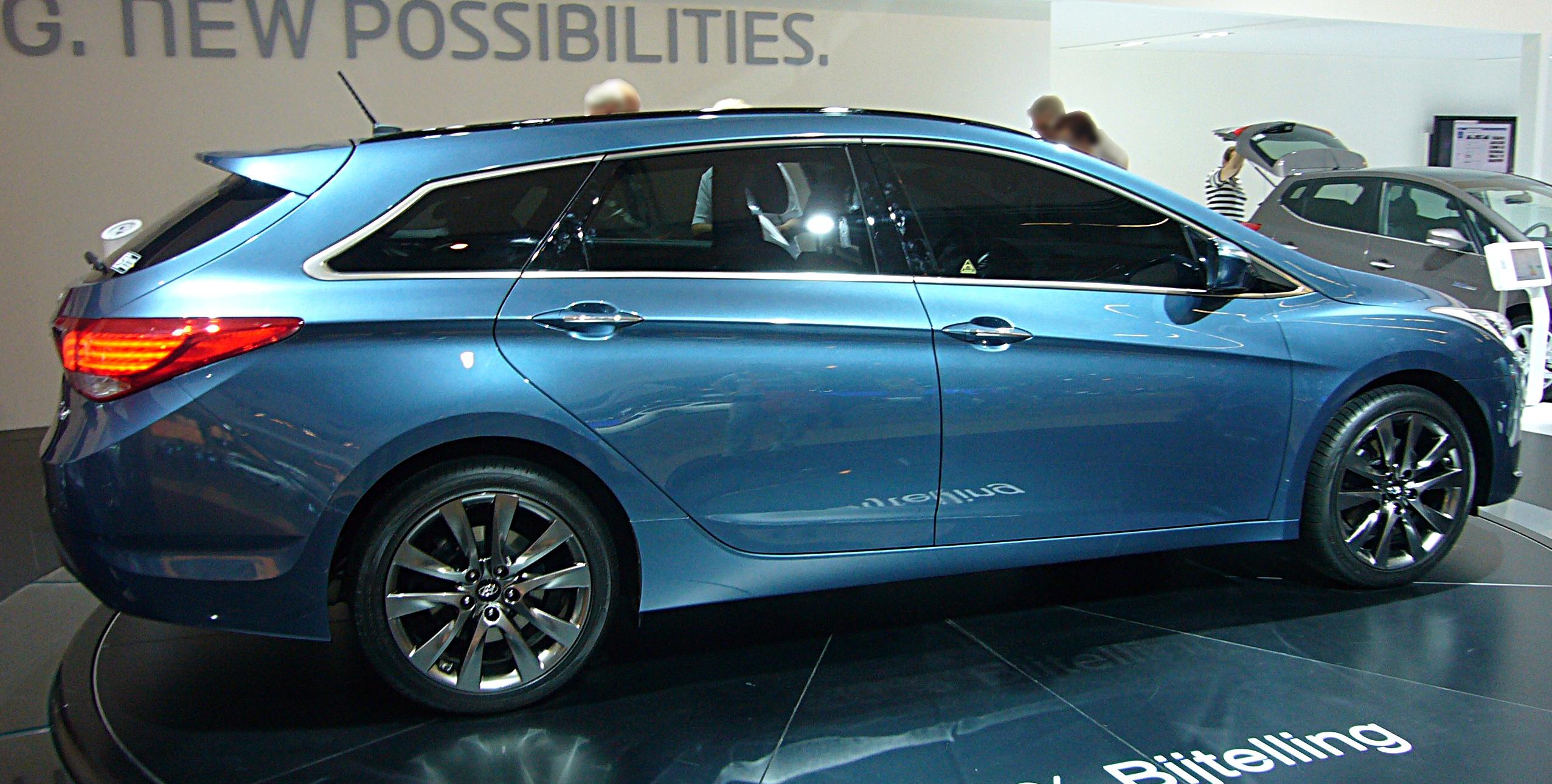 Hyundai wagon i40