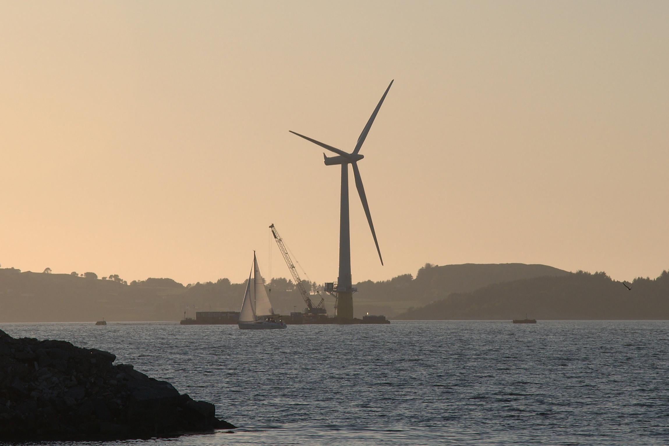 Floating wind turbine Wikiwand