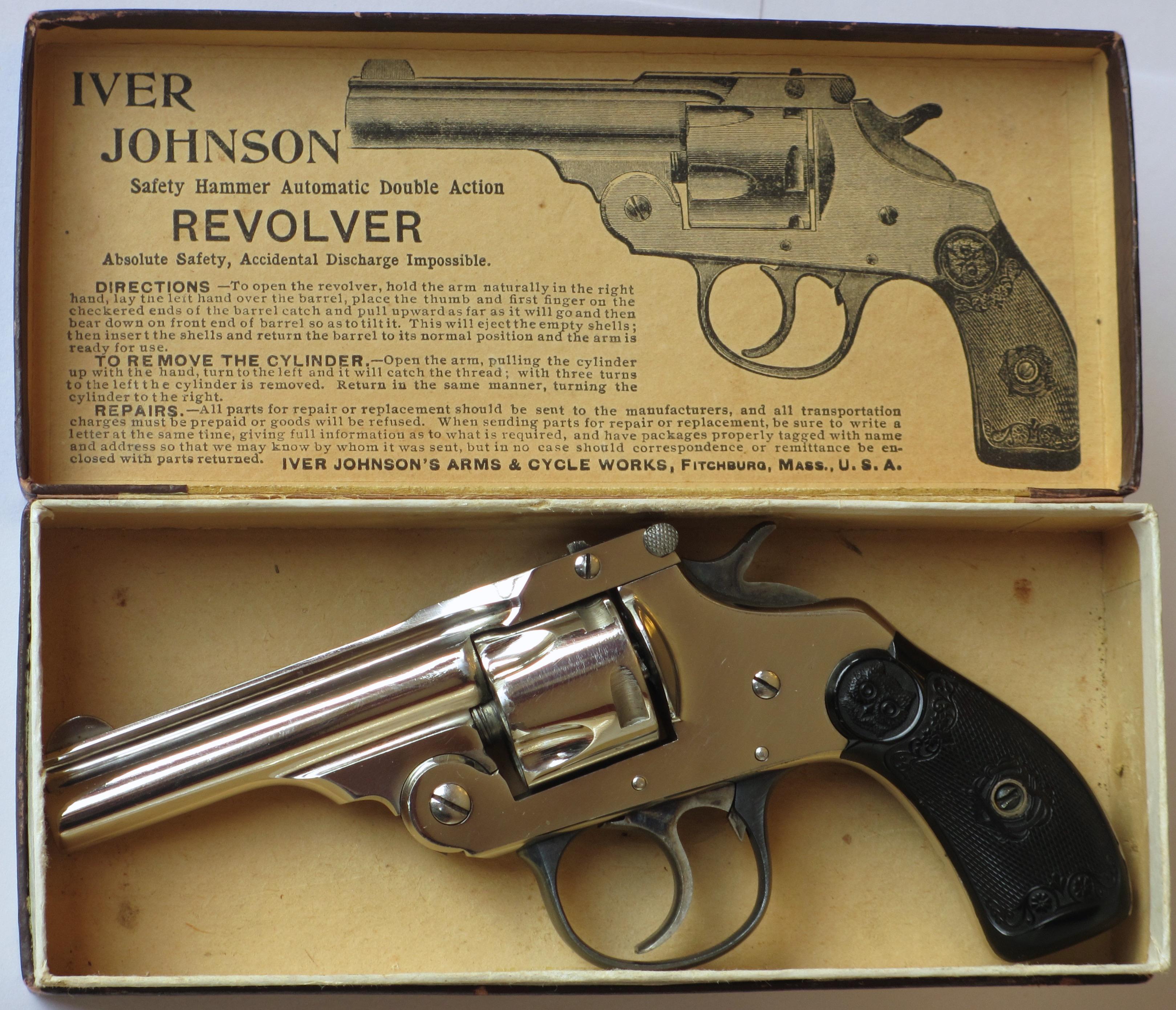 Dating iver Johnson revolver