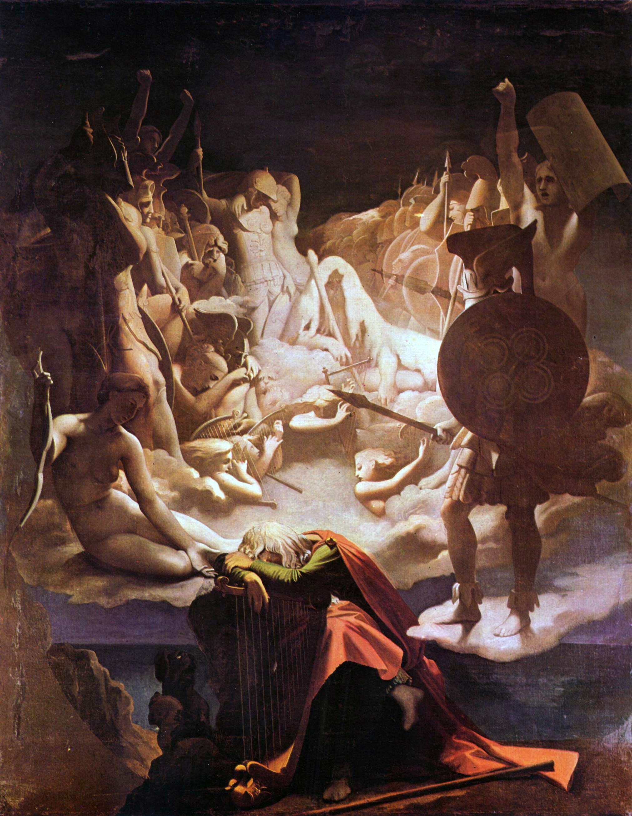 Ossian's dream by Ingres