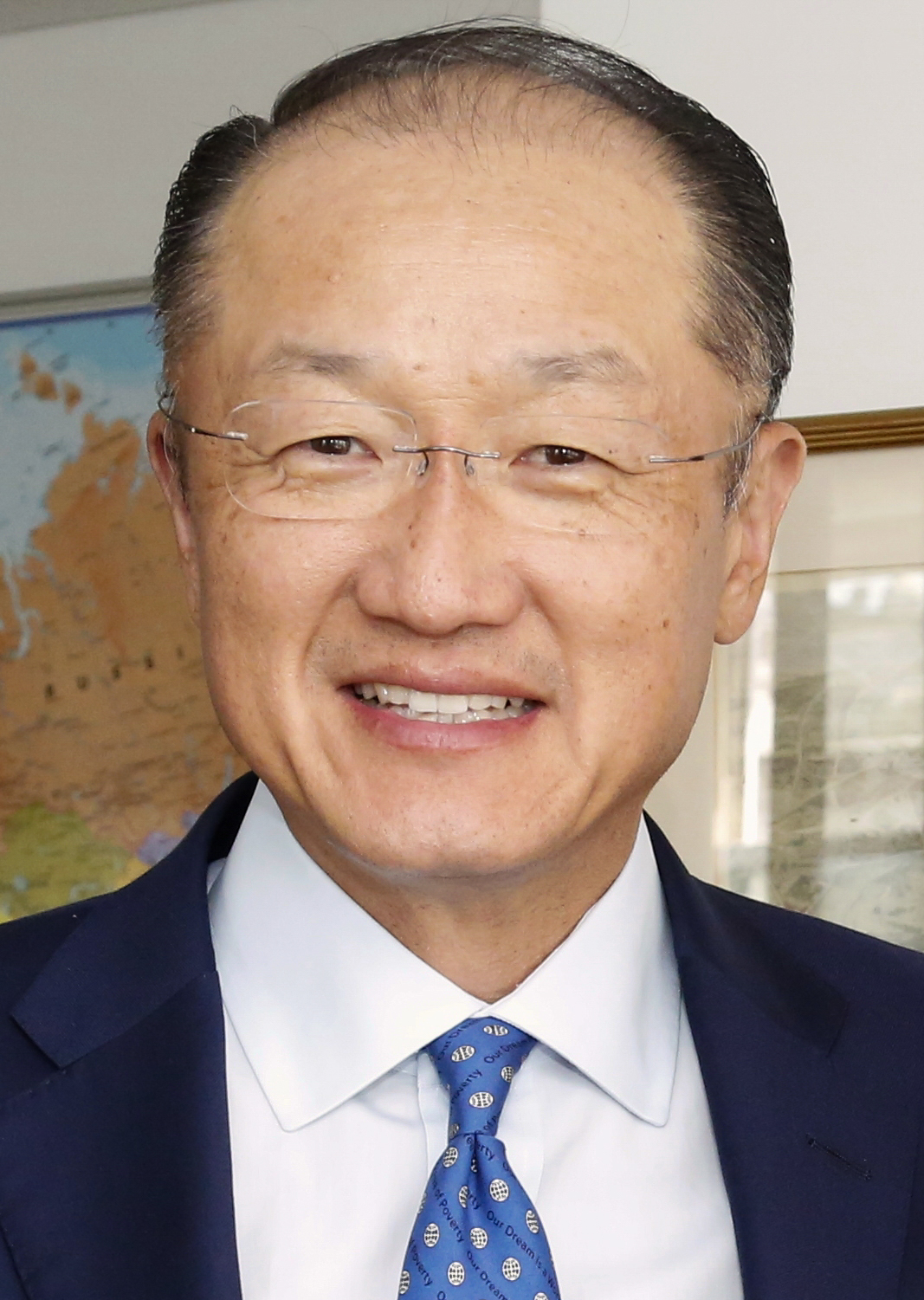 The 58-year old son of father (?) and mother(?) Jim Yong Kim in 2018 photo. Jim Yong Kim earned a  million dollar salary - leaving the net worth at  million in 2018