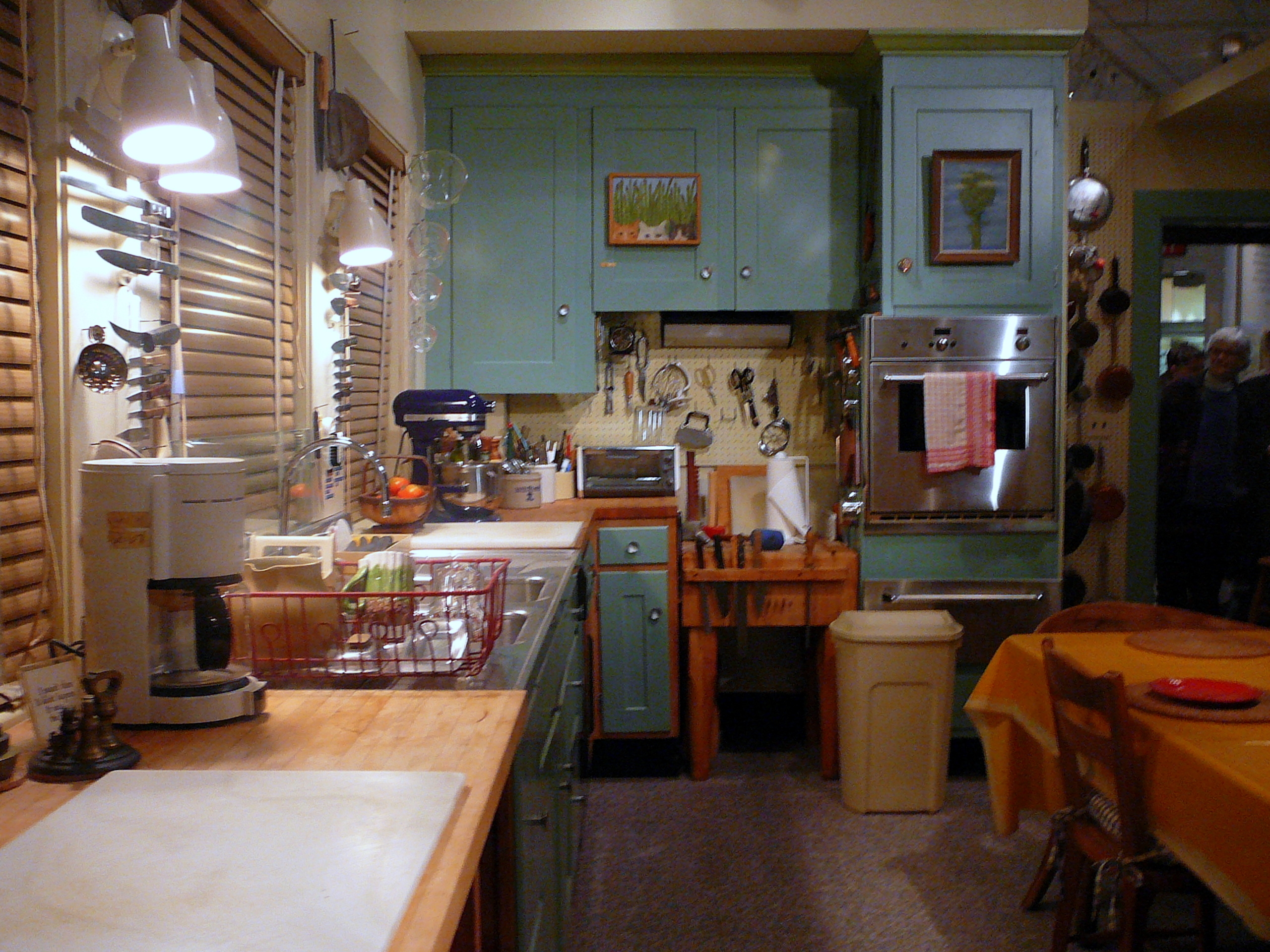 Foodista  Julia Childs Kitchen Closing For Renovation