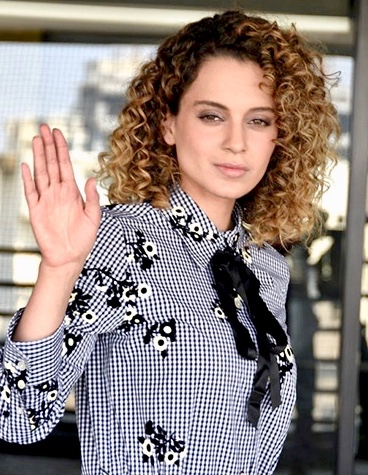 Kangana Ranaut promoting Rangoon