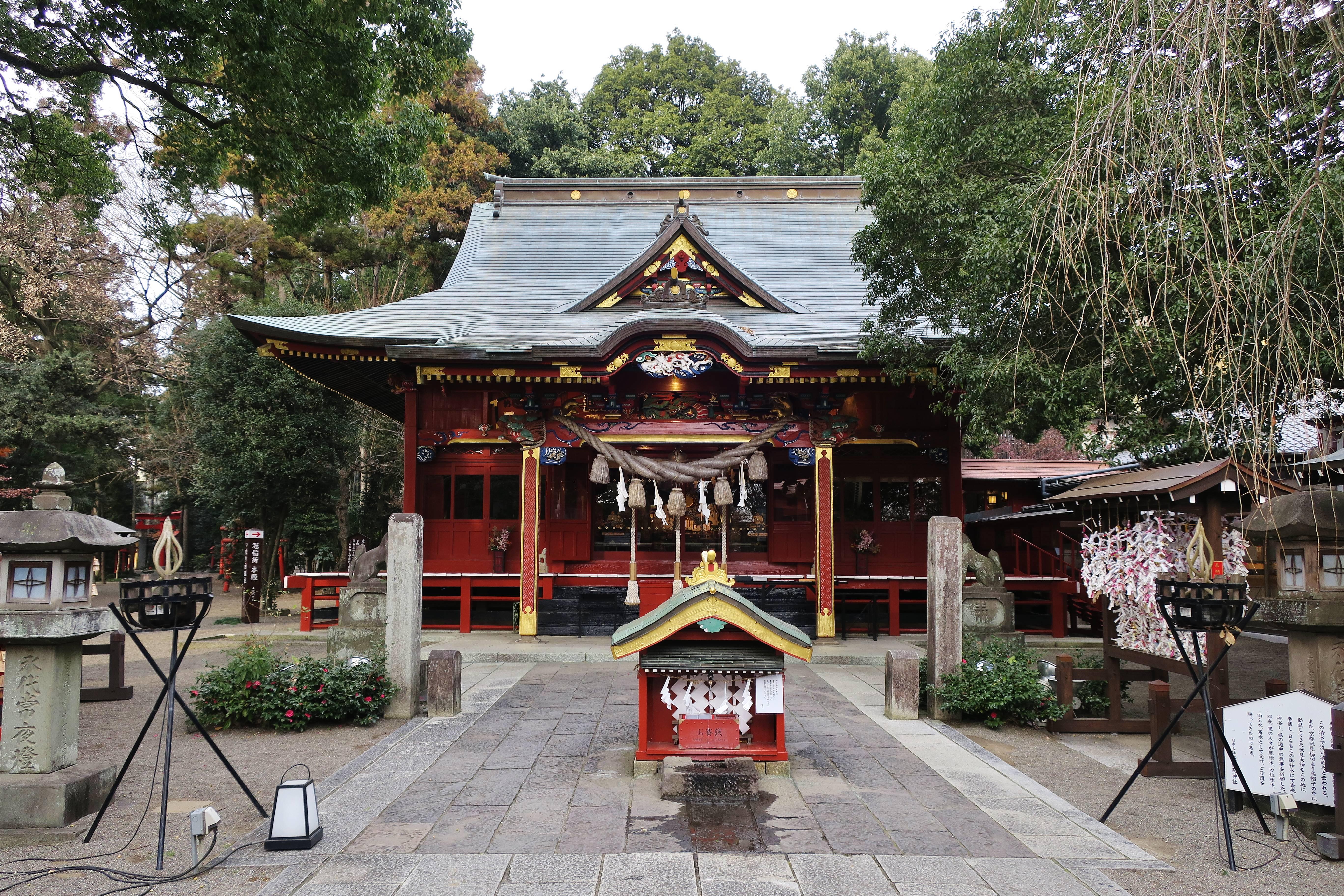 冠 稲荷 神社