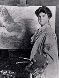 Photograph of Katerine Sophie Dreier, 1910