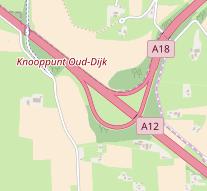 Knooppunt Oud-Dijk kaart.png