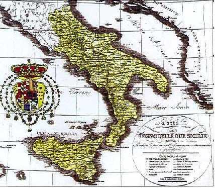 LA LIBERAZIONE DEL MERIDIONE Regno delle Due Sicilie